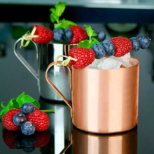 moscow mule becher kupfer 12 3 oz 350ml einzigartige cocktailgl ser cocktail metall. Black Bedroom Furniture Sets. Home Design Ideas