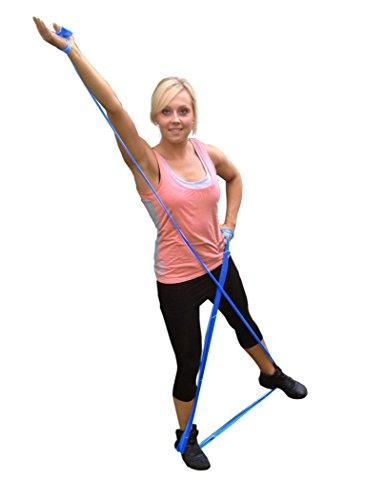 NEUPremium-Bestseller-Fitnessband-bestes-THERAPYBAND-Allergiker-geeignet-TOP-Qualitt-Geruchsneutral-Reifest-Inkl-bungsheft-Aufbewahrungsbeutel-2-Strken-Set-mit-je-25m-Xtralnge-Limitiertes-Angebot-Jetz-0-6