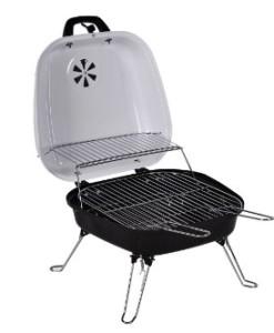 Nexos-Picknickgrills-Koffergrill-Holzkohlegrill-BBQ-Partygrill-Minigrill-Barbecue-wei-0