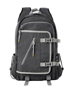 Outdoor-peak-Herren-hochwertiges-Canvas-Studententasche-Wanderrucksack-Laptoptasche-Trekkingrucksack-Reisetasche-Sportrucksack-Schulrucksack-Bergsteigen-Camping-0