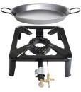 Paella-World-International-Gaskocher-Hockerkocher-Set-mit-Paella-Pfanne-Mehrfarbig-2-teilig-0