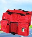 Sattel-bag-Pet-Hunde-Rucksack-reisen-Wandern-Harness-verpacken-orange-und-Schwarz-0