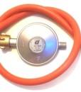 Schlauch-080-Meter-und-Druckminderer-50mbar-fr-Gasbrenner-Kocher-0