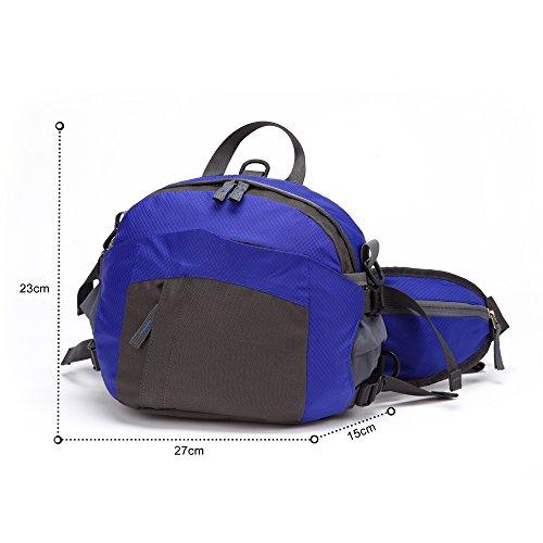 TOMOUNT-Rcksack-Rucksack-Schulter-Umhngetasche-Hfttasche-Brustbeutel-Bauchtasche-Grteltasche-Sports-Wandern-Campus-Kamera-Wasserdicht-Grn-Rot-Blau-Dunkelgrn-0-6