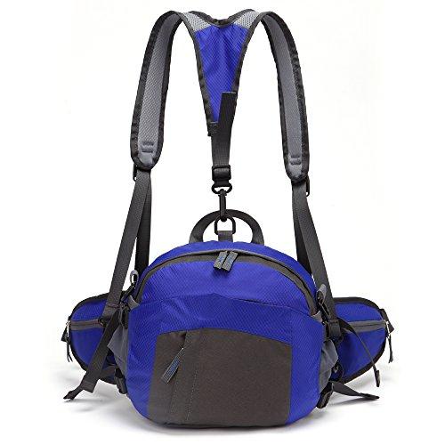 TOMOUNT-Rcksack-Rucksack-Schulter-Umhngetasche-Hfttasche-Brustbeutel-Bauchtasche-Grteltasche-Sports-Wandern-Campus-Kamera-Wasserdicht-Grn-Rot-Blau-Dunkelgrn-0