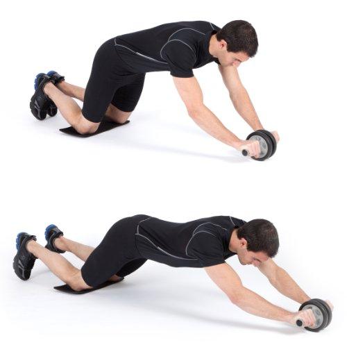 Ultrasport-Bauchtrainer-AB-Roller-inkl-Knieauflage-und-Trainingsanleitung-0-4