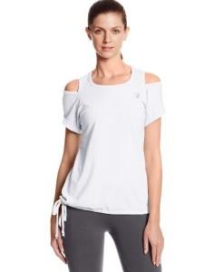 Zumba-Fitness-Damen-Top-Sew-Unusual-Shoulder-Slash-Tee-0