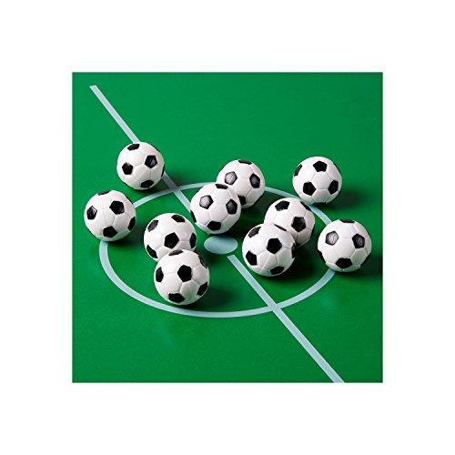 10-Stck-Kicker-Blle-aus-ABS-Farbe-schwarzwei-klassische-Fuball-Optik-hart-und-schnell-Durchmesser-31mm-Tischfussball-Kickerblle-Ball-0-1