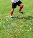 Koordinationsringe-aus-Kunststoff-12er-Set-3-Farben-fr-Teamsportbedarf-Fuballtraining-0