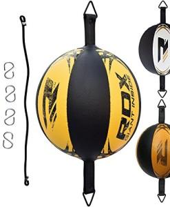 RDX-Doppelendball-Boxen-Set-Boxbirne-Drehwirbel-SpeedBall-Punchingblle-0