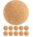 TUNIRO-10-Stck-Kicker-Blle-aus-Kork-leise-und-griffig-Durchmesser-35mm-Tischfussball-Kickerblle-Ball-0