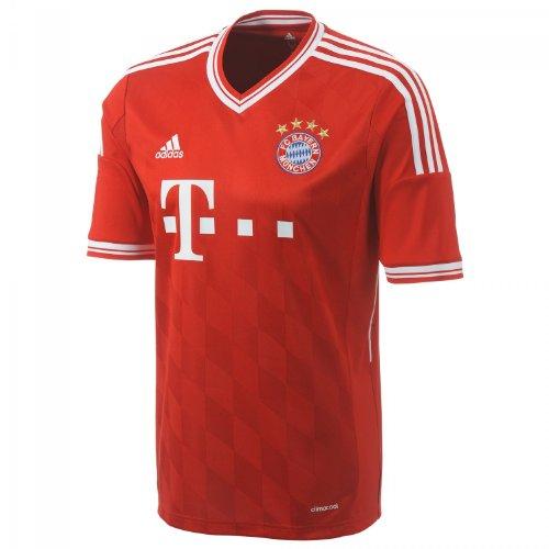 adidas-Herren-kurzrmliges-Trikot-FC-Bayern-Home-Jersey-0