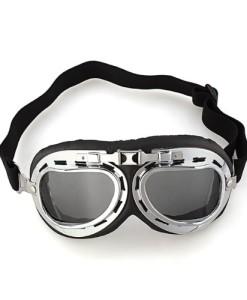 1x-Motorradbrille-Motorrad-Sonnenbrille-Schutzbrille-Fliegerbrille-Dunkelbraun-0