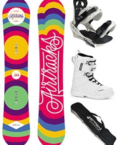 AIRTRACKS-DAMEN-SNOWBOARD-SET-BOARD-PINTO-SOFTBINDUNG-SAVAGE-W-SOFTBOOTS-SB-BAG-0