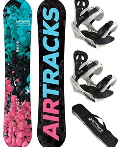 AIRTRACKS-DAMEN-SNOWBOARD-SET-BOARD-POLYGONAL-SOFTBINDUNG-SAVAGE-W-SB-BAG-0