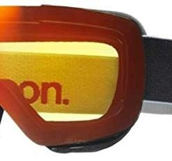Anon-Masken-Ski-Snowboard-MiG-Brille-Herren-Black-Red-Solex-Amber-Spare-0