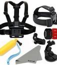 Aodoor-Gopro-Brustgurt-Kopfband-Helmband-Head-Strap-einstellbar-fr-Gopro-Hero-233-4-SJ4000-SJ5000-Kameras-0