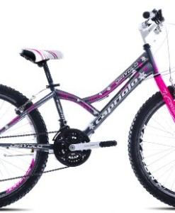 Capriolo-Mountainbike-24-Zoll-fr-Kinder-KID400-MTB-geeignet-fr-8-11-Jahre-Shimano-18-Gang-Hardtail-0