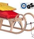 Impag-Hrnerschlitten-mit-Zuggurt-und-Lehne-Rot-inkl-Fusack-rot-gelb-115-cm-lang-0