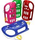 Kunststoff-Schlitten-Kinderschlitten-Rodelschlitten-Racer-Bob-mit-Zugseil-0