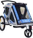 Qeridoo-Kinderfahrradanhnger-Speedkid2-Blau-Q200A-0