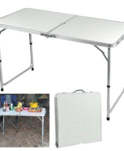 Yahee365-Campingtisch-Gartentisch-Klapptisch-Falttisch-Faltbarer-Tisch-Campingmbel-Markttisch-Flohmarkttisch-Koffertisch-0