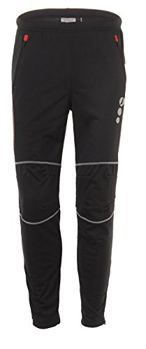 4Ucycling-LAMBDA-Herren-Hose-Radsport-Thermo-Radhose-Outdoor-Sport-Windstopper-Fahrradhose-Lang-0-0
