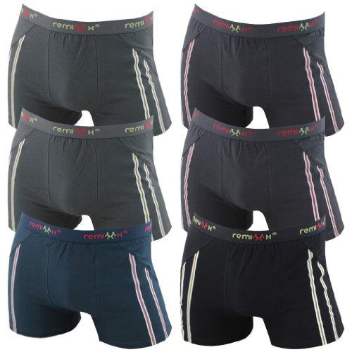 6er-Pack-Herren-Retroshorts-Boxershorts-schwarz-dunkelblau-mix-M-L-XL-oder-XXL-0-0