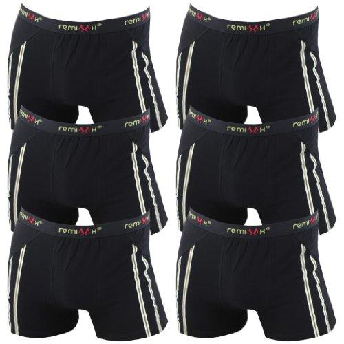 6er-Pack-Herren-Retroshorts-Boxershorts-schwarz-dunkelblau-mix-M-L-XL-oder-XXL-0-1