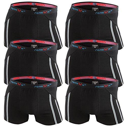 6er-Pack-Herren-Retroshorts-Boxershorts-schwarz-dunkelblau-mix-M-L-XL-oder-XXL-0-3