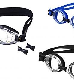 Aqua-Speed-Schwimmbrille-mit-Sehstrke-Dioptrien-linkes-rechtes-Glas-individuell-nach-Ihren-Wnschen-whlbar-UP-Schlsselanhnger-0