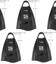 Aquaspeed-High-Tech-kurze-Trainingsflossen-Schwimmtraining-100-Silikon-Rechts-Linksfu-patentiert-Tech2-Premium-Qualitt-0