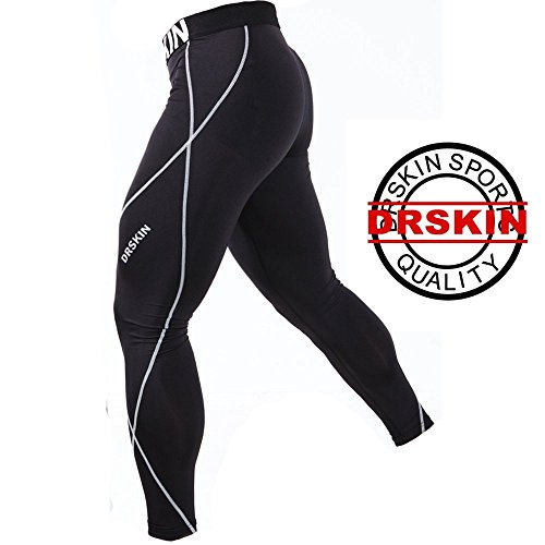 DRSKIN-DB01-Tight-Kompressionshose-Funktionswsche-Pants-Base-Layer-Laufhose-Mnner-Frauen-Lang-0