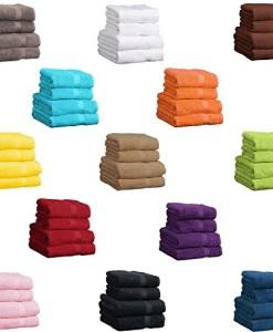 Duschtuch-Grau-Frottee-Baumwolle-500gm2-Handtuch-70-x-140-cm-0-0