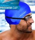 Grenzenlose-Mate-ProSwim-Badekappe-fr-langes-Haar-Profi-Silikon-Badekappe-fr-Herren-Damen-Jungen-und-Mdchen-0