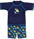 Landora-Baby-Kleinkinder-Badebekleidung-2er-Set-mit-UV-Schutz-50-und-Oeko-Tex-100-Zertifizierung-in-blau-oder-trkis-0