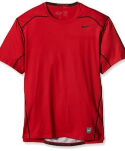 NIKE-Herren-T-Shirt-Hypercool-Fitted-Short-Sleeve-0