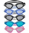 Shark-Schwimmbrille-100-UV-Schutz-Antibeschlag-Starkes-Silikonband-stabile-Box-Groe-Farbauswahl-0