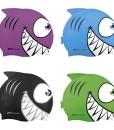 Spokey-Haifisch-fr-Kinder-Badekappe-Bademtze-Badehaube-Cap-0