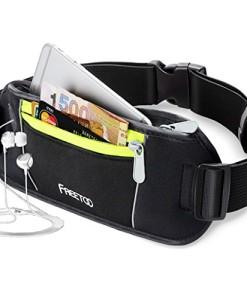 Sport-Hfttasche-FREETOO-Grteltasche-2-Pocket-Kapazitt-Bauchtasche-Schwarz-Geeignet-fr-iPhone-6-Plus-iPod-Exklusive-ffnung-fr-Kopfhrer-Kabel-und-Reflexstreifen-fr-Nachtsichtbarkeit-zum-Laufen-und-Reise-0