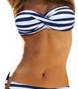 TDOLAH-Damen-Bandeau-Padded-Bikini-Set-Trgerlosen-Badeanzug-Push-Up-0