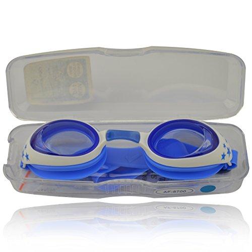 Zippo-Kinder-Schwimmbrille-100-UV-Schutz-Antibeschlag-Starkes-Silikonband-stabile-Box-Groe-Farbauswahl-0-6