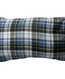 10T-Camp-Pillow-Reise-Schlaf-Kissen-40x25cm-mit-integriertem-Schutz-Futteral-kariert-250g-0