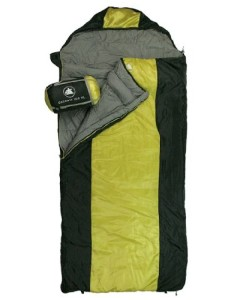 10T-Selawik-100XL-Einzel-Decken-Schlafsack-230x100cm-Komfortgre-mit-Kapuzen-Kopfteil-schwarzgelb-bis-3-C-0