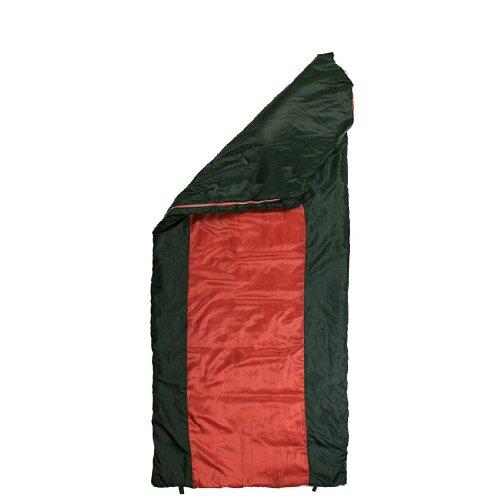 10T-Selawik-125L-Einzel-Decken-Schlafsack-215x90cm-mit-Kapuzen-Kopfteil-1500g-schwarzrot-bis-3-C-0-2
