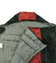 10T-Selawik-125L-Einzel-Decken-Schlafsack-215x90cm-mit-Kapuzen-Kopfteil-1500g-schwarzrot-bis-3-C-0-4