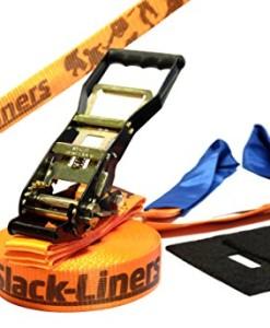 4-Teiliges-Slackline-Set-50mm-breit-15m-lang-mit-Langhebelratsche-hchste-Qualitt-NEU-0