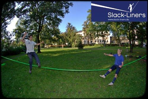 4-Teiliges-Slackline-Set-50mm-breit-25m-lang-GELB-mit-Langhebelratsche-hchste-Qualitt-Slack-Liners-0-4