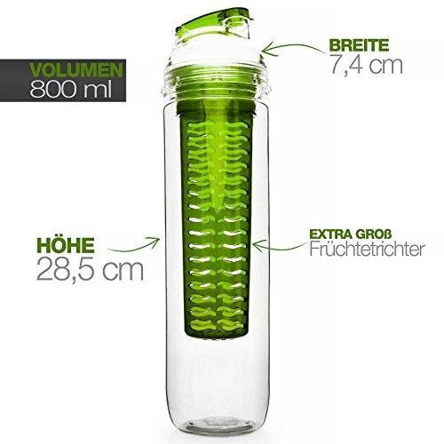 800ml-Trinkflasche-fr-Fruchtschorlen-Gemseschorlen-in-den-Farben-Grn-Lila-Blau-und-Rot-Perfekte-Sportflasche-aus-splmaschinenfesten-Tritan-Material-mit-extra-easy-Trinkverschluss-0-0