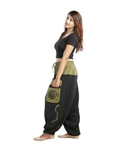 Aladinhose-Haremshose-mit-groen-Taschen-mehrfarbig-Simandra-0